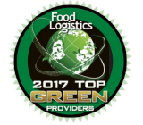 SpartanNash award – Top Green Provider Food Logistics 2016, 2017