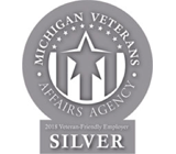 SpartanNash award – Veteran-Friendly Employer: Silver Level, Michigan Veterans Affairs Agency 2018