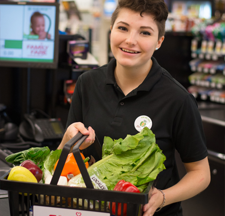 SpartanNash retail grocery store associate